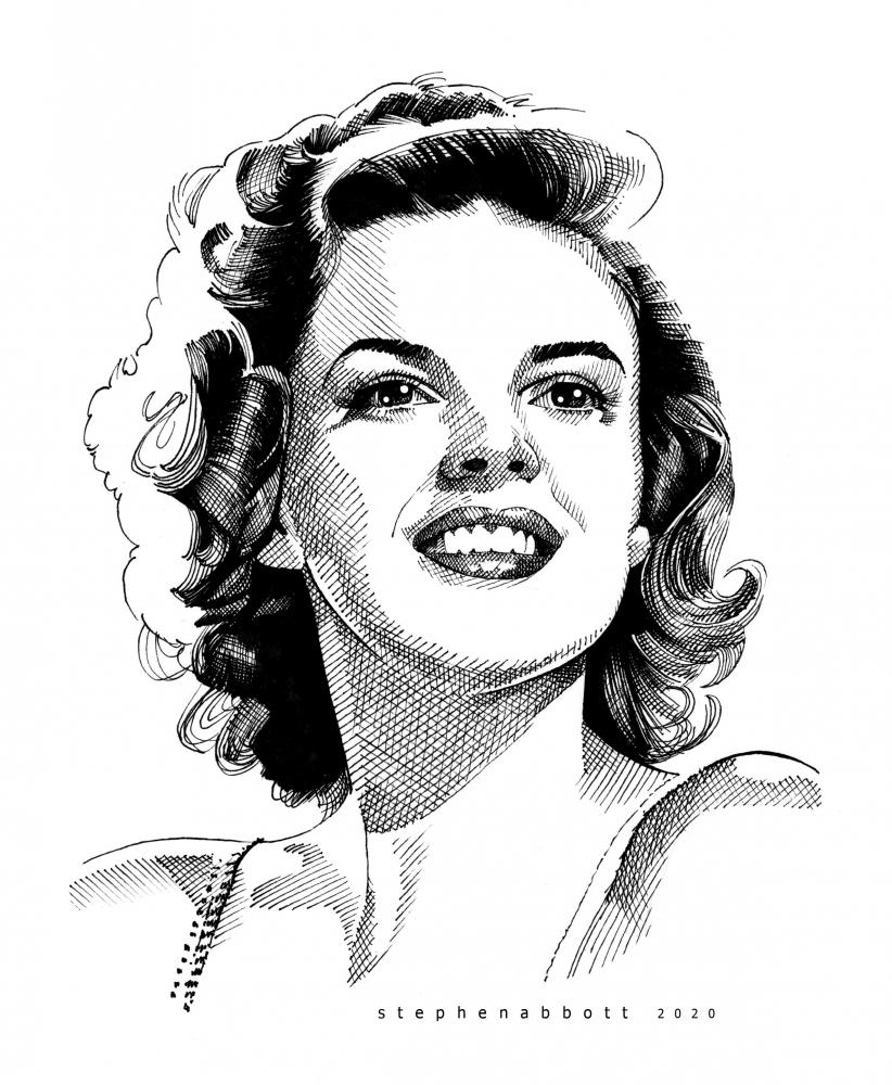 Judy Garland par Stefanosart